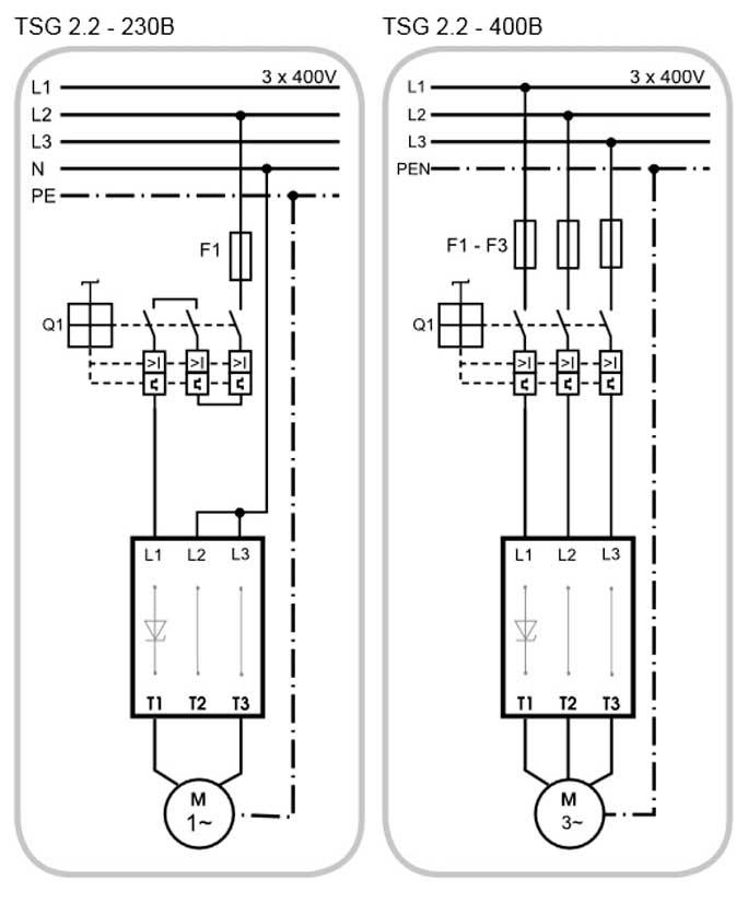 Схема электрического подключения насоса